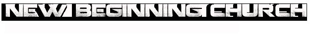 New Beginning Church logo