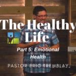 Emotional Health Sermon