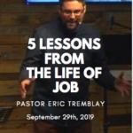 5 lessons job