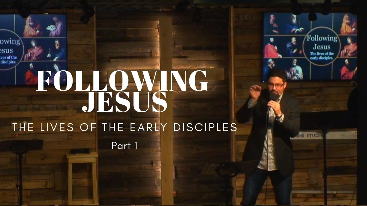 Following Jesus part 1